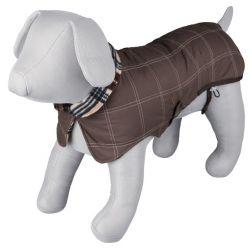 :Kabátek AQUILA hnědý, prošívaný M 50cm DOPRODEJ