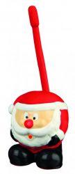 Vánoční hračka latexový míč tučnák,medvěd,sob,Santa 18 cm
