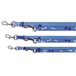 -Vodítko přepínací Modern Art WOOF L-XL 2m/25mm modréDOPRODE