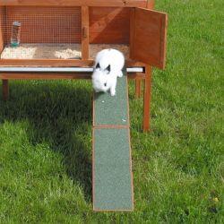 Dřevěná rampa k rampám, domečkům a králíkárnám 20 x 50 cm
