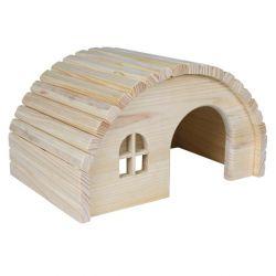 Dřevěné iglů pro myši a křečky 19x11x13 cm