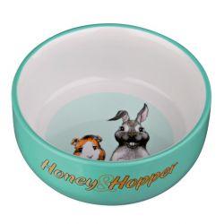 Keramická miska Honey-Hopper pro morče, králíka 250ml/11cm