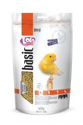 LOLO BASIC kompletní krmivo pro kanárky 600 g Doypack