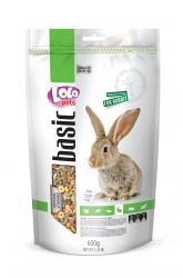 LOLO BASIC kompletní krmivo pro králíky 600 g Doypack