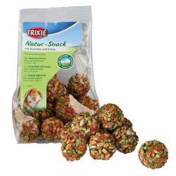 Natur Snack - kuličky s mrkví a hráškem pro hlodavce 140 g