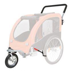 Přední kolo a držadlo k vozíku 12816, konverze na běhání
