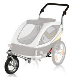 Přední kolo a držadlo k vozíku 24607, konverze na běhání
