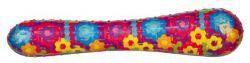 Házecí různobarevná tyč se zvukem,termoplast.guma (TPR)26 cm