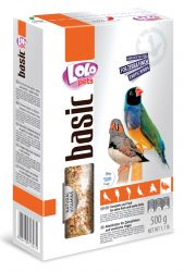 LOLO BASIC kompletní krmivo pro zebřičky 500 g krabička