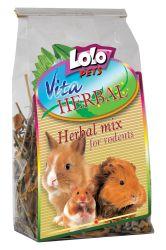 LOLOPets VITA HERBAL bylinkový mix pro hlodavce 40g