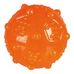 Míček různobarevný termoplastová guma (TRP) 8 cm