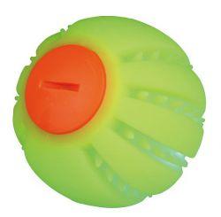 Svítící míček, s napájecím kabelem USB, žlutý, 6 cm