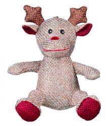 Vánoční figurka SANTA CLAUS,SOB,SNĚHULÁK z vlněné látky