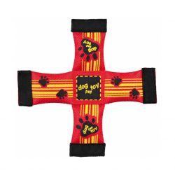 Kříž hračka, požární hadice 26 x 26 cm