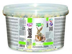 LOLO - exotik mix kompl. krmivo pro hlodavce kyblík 1,4 kg