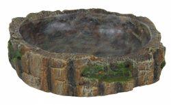 Miska na vodu a krmení pro plazy 13 x 3,5 x 11 cm