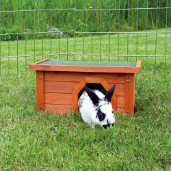 Natura králíkárna malá, hnědá 40 x 20 x 28 cm