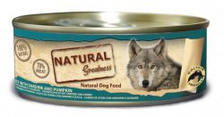 Natural Greatness filet tuňák+sardinky konz.pro psy 156 g