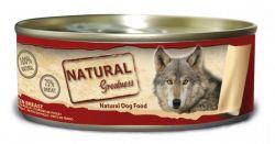 Natural Greatness kuřecí prsa konzerva pro psy 156 g