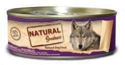 Natural Greatness kuřecí prsa+zelenina konz.pro psy 156 g