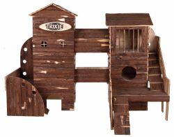 !Natural Living ranč dřevěný pro hlodavce 156x108x99cm DOPRODEJ