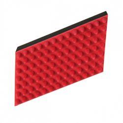Masážní kartáč, přírodní guma 5 x 10 cm