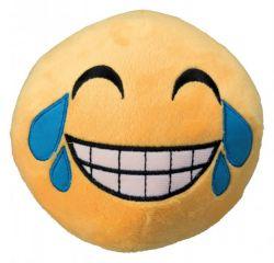 Plyšový SMAJLÍK malý 9 cm žlutý,  - smějící