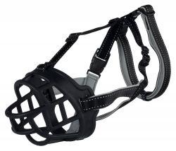 Silikonový náhubek FLEX S 20 cm/hlava max.20 cm černý