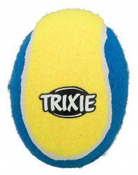 Tenisový ragby míč modro-žlutý TRIXIE 12 cm