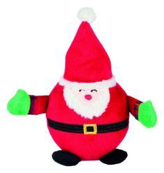 Vánoční kulaté figurky SANTA CLAUS, TUČNÁK, SNĚHULÁK 18 cm