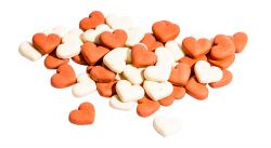 MINI HEARTS MIX STRAWBERRY jahodová srdíčka 1 kg