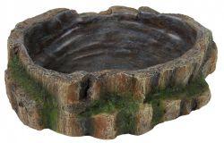 Miska na vodu a krmení pro plazy 18 x 4,5 x 17 cm
