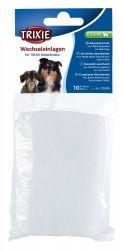 Absorpční vložky do břišního pásu pro psa samce, M, 10ks
