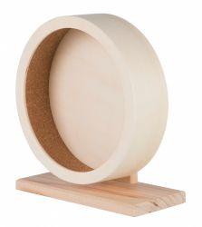 Dřevěné kolo pro myši a křečky 21 cm