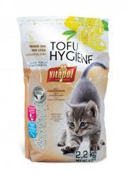 Podestýlka TOFU citrónová, hrudkující pro kočky 3,8 L
