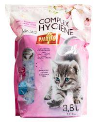 VITAPOL silicagel s vůní květů COMPLEX HYGIENEpro kočky 3,8L