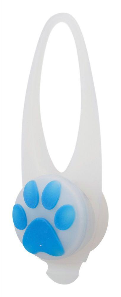 Flasher blikačka pro psy 2,4 cm / 8 cm bílá/barevná tlapka TRIXIE