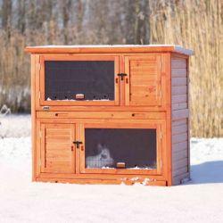Natura králíkárna pro malá zvířata s izolací 116x113x65cm
