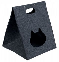 Plstěný box/jeskyně ANTONIA 40x48x40 antracit