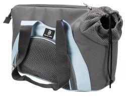 Transportní taška Scarlett, 21x30x50cm, šedá/modrá