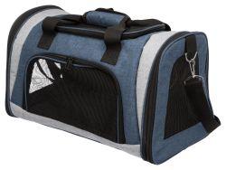 Transportní taška Sean, 26 x 28 x 45 cm, modrá/šedá
