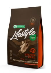 Nature's Protection Dog Lifestyle Grain Free Salmon with krill Adult Small and Mini Breeds 1,5kg