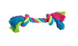 Uzel HipHop bavlněný 2  knoty 41 cm / 460 g růžová, modrá, zelená