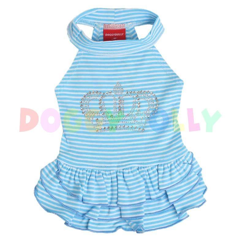 Šaty Doggydolly Crown modrá