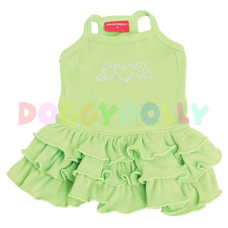 Šaty Doggydolly Tanktop zelená