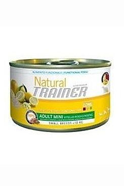 Trainer konzerva Natural Adult Mini Chicken Aloe 150g Trainer Natural