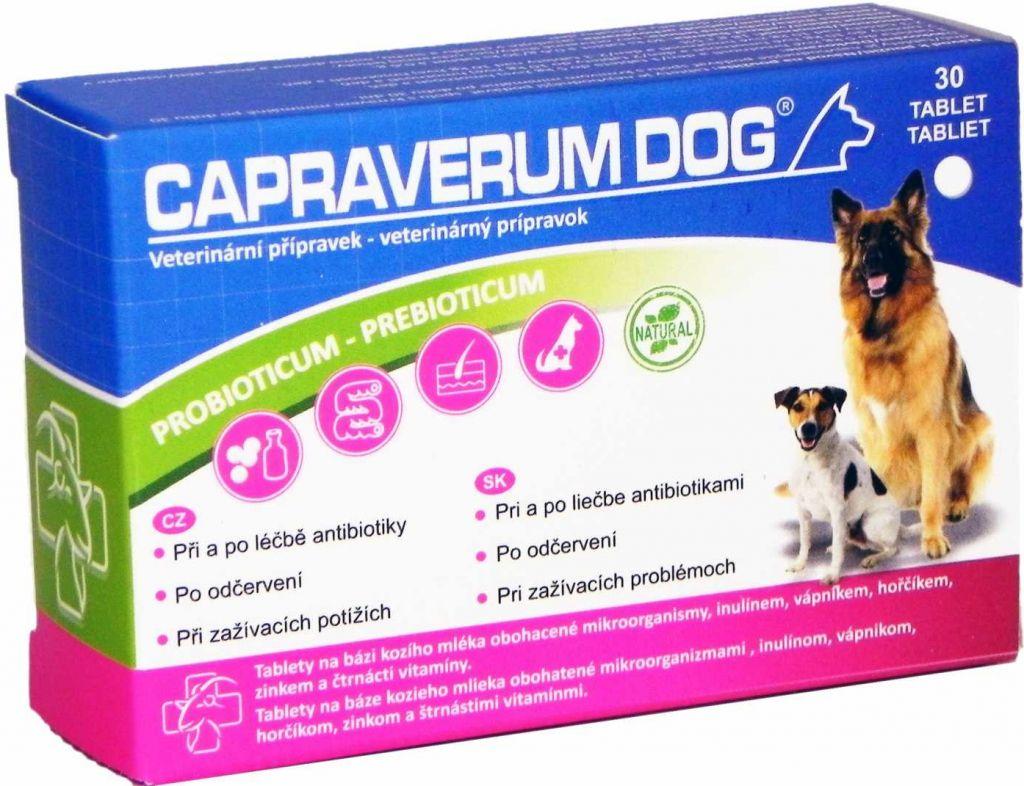 Capraverum Dog probioticum-prebioticum tbl.30 2knet s.r.o.
