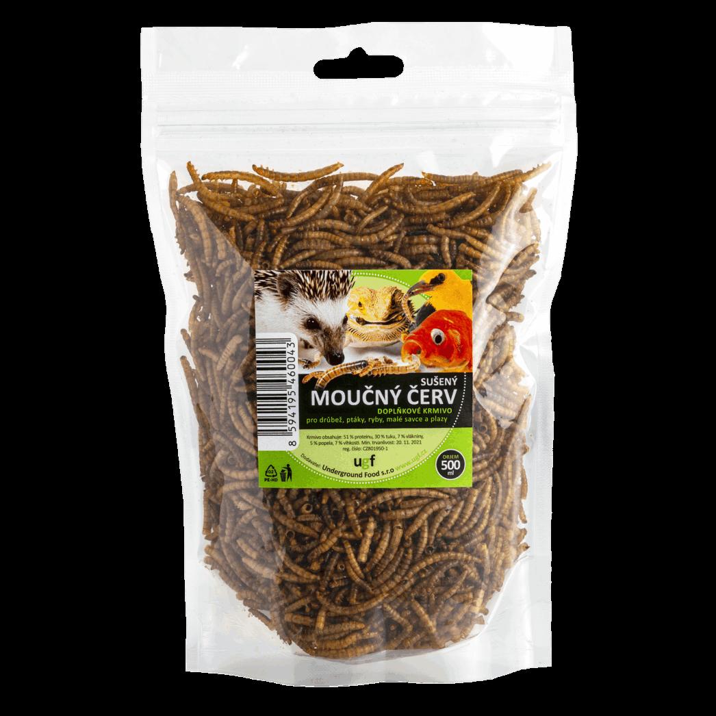 Moučný červ sušený 500ml (112g) UGF