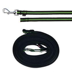 FUSION stopovací vodítko pásek 3 m/17 mm,  - černo-zelený