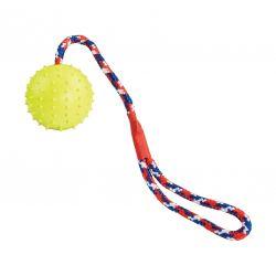 Gumový míč na laně  7 cm, TPR, HipHop
